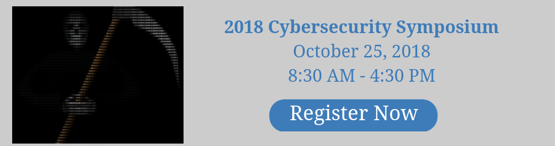 2018 Cybersecurity Symposium Banner