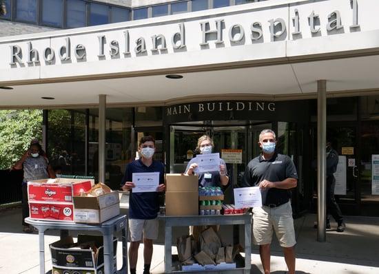 Rhode Island Hospital Donation